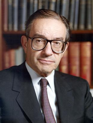 Picture of quotation author Alan Greenspan