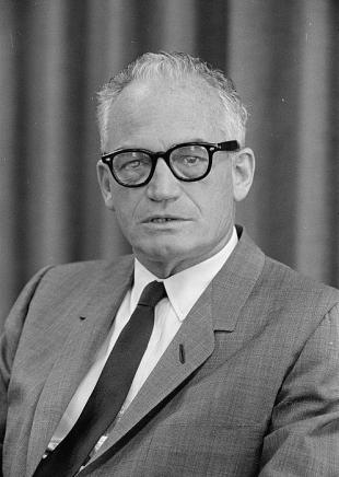 Picture of quotation author Barry Goldwater