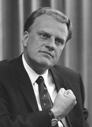 Picture of quotation author Billy Graham