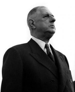Picture of quotation author Charles de Gaulle