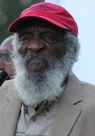 Picture of quotation author Dick Gregory