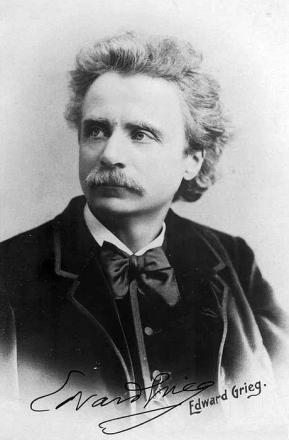 Picture of quotation author Edvard Grieg