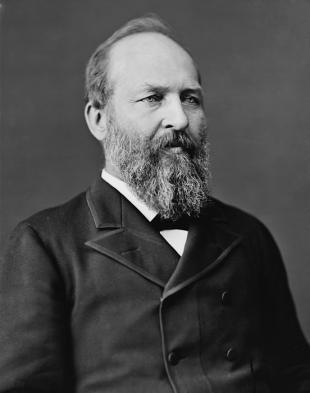Picture of quotation author James A. Garfield