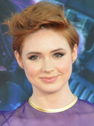 Picture of quotation author Karen Gillan