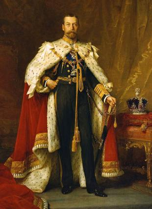 Picture of quotation author King George V
