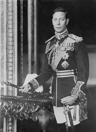 Picture of quotation author King George VI