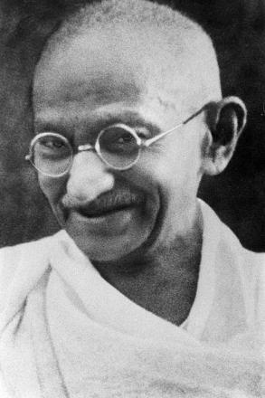 Picture of quotation author Mahatma Gandhi
