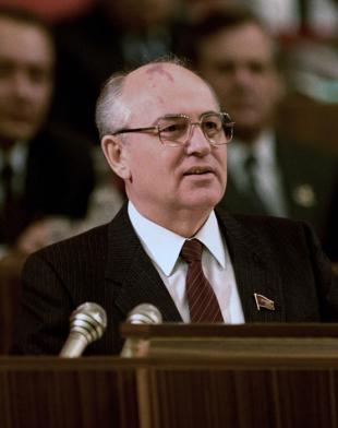 Picture of quotation author Mikhail Gorbachev
