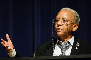 Picture of quotation author Nikki Giovanni