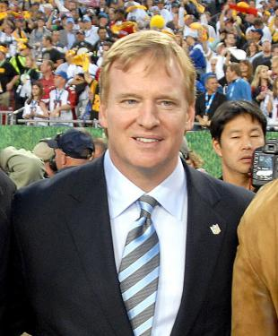 Picture of quotation author Roger Goodell