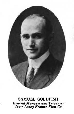 Picture of quotation author Samuel Goldwyn
