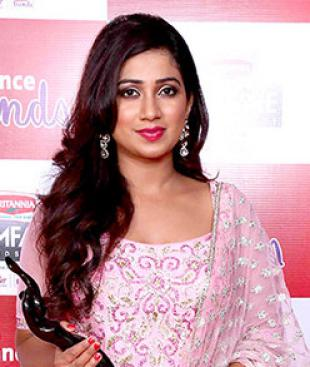 Picture of quotation author Shreya Ghoshal