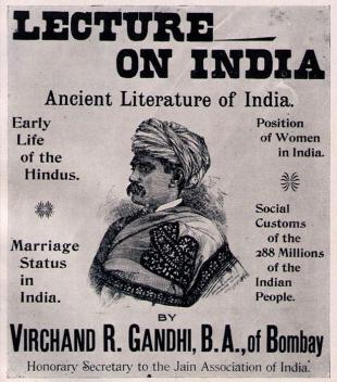 Picture of quotation author Virchand Gandhi