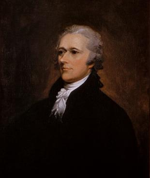 Picture of quotation author Alexander Hamilton