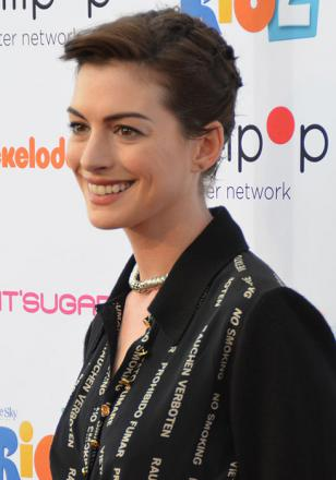 Picture of quotation author Anne Hathaway