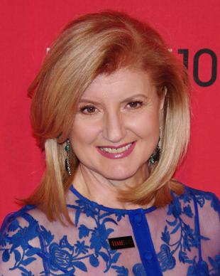 Picture of quotation author Arianna Huffington