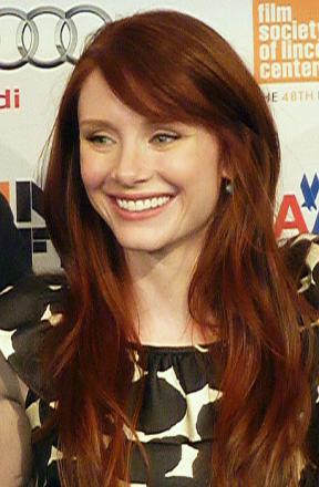 Picture of quotation author Bryce Dallas Howard
