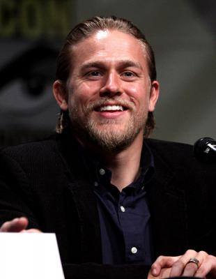 Picture of quotation author Charlie Hunnam