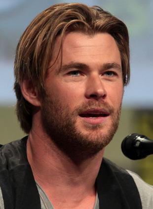 Picture of quotation author Chris Hemsworth