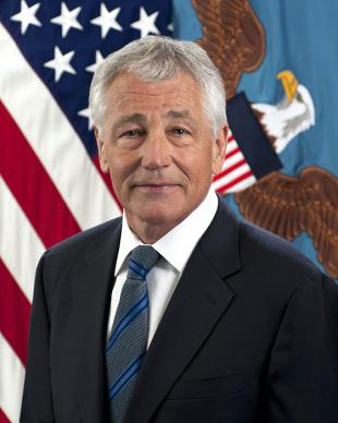 Picture of quotation author Chuck Hagel
