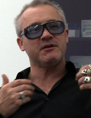 Picture of quotation author Damien Hirst