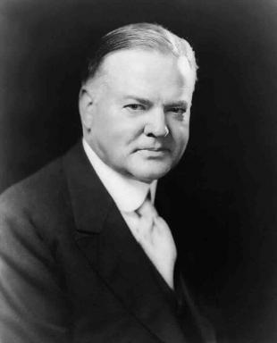 Picture of quotation author Herbert Hoover