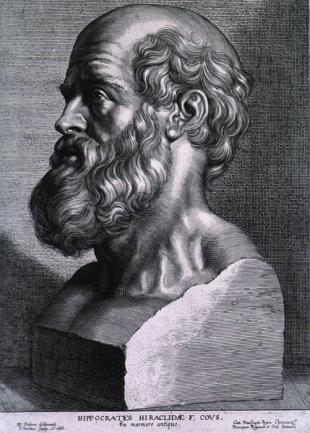 Picture of quotation author Hippocrates