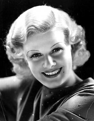Picture of quotation author Jean Harlow