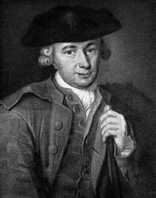 Picture of quotation author Johann Georg Hamann