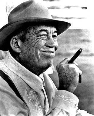 Picture of quotation author John Huston