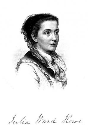 Picture of quotation author Julia Ward Howe