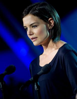 Picture of quotation author Katie Holmes