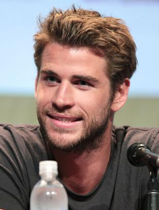 Picture of quotation author Liam Hemsworth
