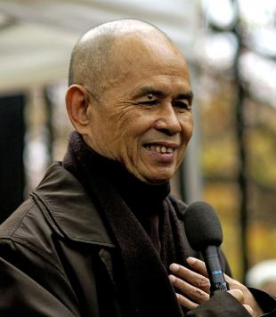 Picture of quotation author Nhat Hanh
