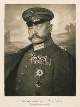 Picture of quotation author Paul von Hindenburg