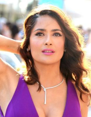 Picture of quotation author Salma Hayek