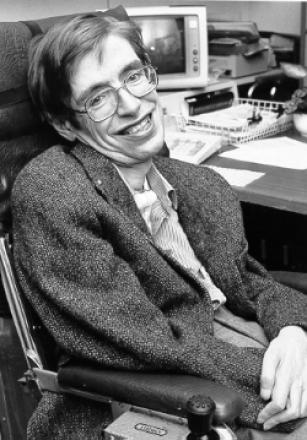 Picture of quotation author Stephen Hawking