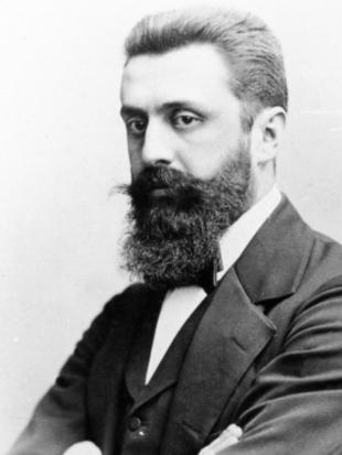 Picture of quotation author Theodor Herzl