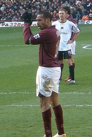 Picture of quotation author Thierry Henry