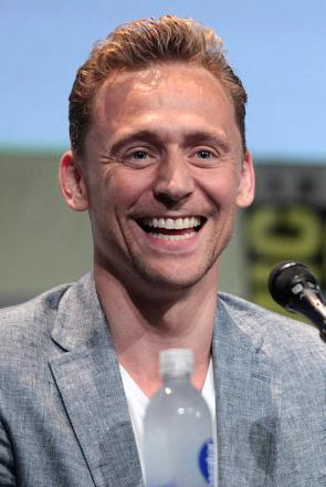 Picture of quotation author Tom Hiddleston