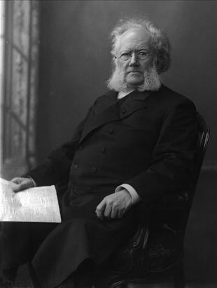 Picture of quotation author Henrik Ibsen
