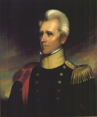 Picture of quotation author Andrew Jackson