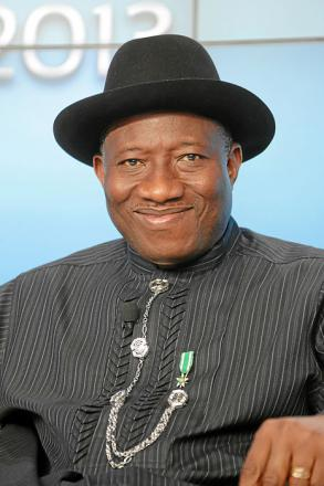 Picture of quotation author Goodluck Jonathan
