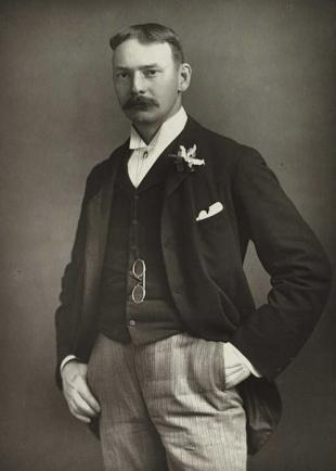 Picture of quotation author Jerome K. Jerome