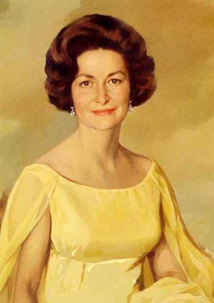 Picture of quotation author Lady Bird Johnson