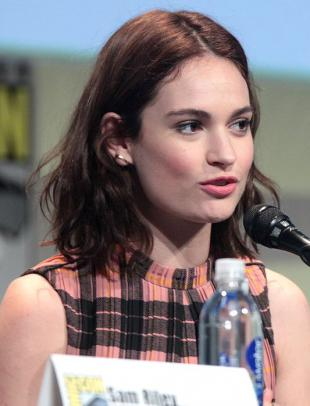 Picture of quotation author Lily James