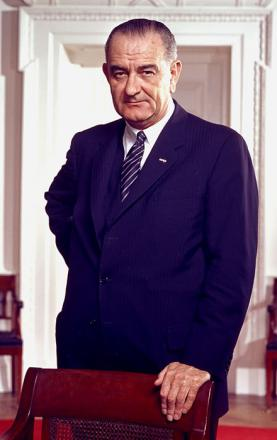 Picture of quotation author Lyndon B. Johnson