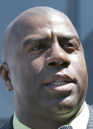 Picture of quotation author Magic Johnson