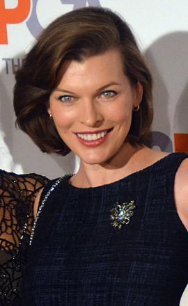 Picture of quotation author Milla Jovovich