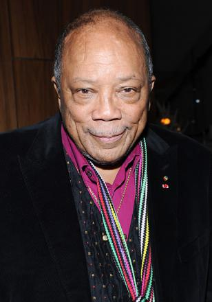 Picture of quotation author Quincy Jones